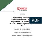 Upgrading JavaScript Applications