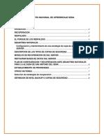 AA6-Ev1-Plan de Respaldo Para Las Secretarías de Gobierno