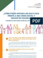 Guía Padres Crisis Social y Hechos Violecia