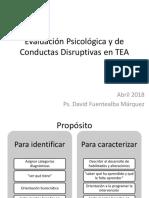 1 PRINT Evaluación Psicológica y de Conductas Disruptivas en TEA