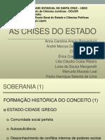 As Crises Do Estado
