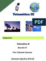 Introducción Telemática III Sept-Ene 2019-20