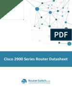 Cisco Router 2900
