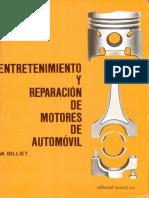 Entretenimiento y Reparacion de Motores de Automovil W Billiet PDF