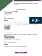 NCERT Exemplar Solution Class 10 Science Chapter 9
