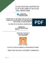 sbi finance projects