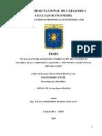Tesis_evaluación Del Estado de Conservación Del Pavimento Flexible de La Carretera Cajabamba - Rio Negro, Utilizando El Método Vizir