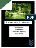 Proyecto Ecologia