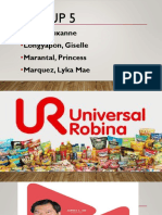 URC Financial analysis report