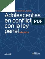 UNICEF 2015 AdolescConflictoLeyPenal