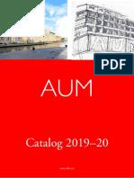 AUM Catalog 2019 20