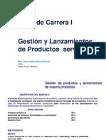 Gestion de Productos y Lanzamiento de Nuevos Productos Taller de Carrera