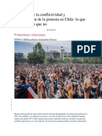 Las Raíces de La Conflictividad y Radicalización de La Protesta en Chile
