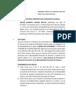 DENUNCIA ABUSO DE AUTORIDAD