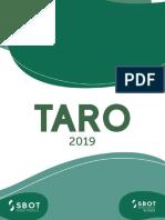 Caderno de Provas TARO 2019