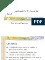 Auscultaci¢n de la frecuencia Fetal