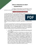 CARACTÈRES ET PRINCIPES DU DROIT ADMINISTRATIF.docx