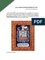 Escudo de Armas de La Ciudad de Nuestra Señora de La Paz