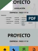 Fase 5 y 6 de Legislación
