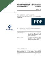 NTC-ISO-IEC 20000-2 v2008