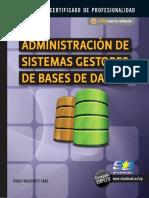 Administracion de Sistemas Gestores de Bases de Datos VALDERREY