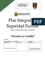 PLAN INTEGRAL DE SEGURIDAD ESCOLAR PISE ESTABLECIMIENTOS EDUCACIONALES MOdicficado 12-09.docx