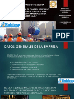 Sistema de Control en La Empresa Soldesp s.a.c