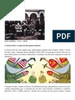 Guerra Fria - Slide e Textos