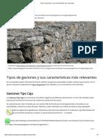 Tipos de Gaviones y Sus Características Más Relevantes