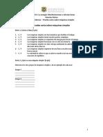 8.5 Otra Evidencia - Prueba Corta Sobre Máquinas Simples