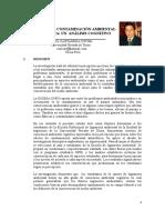 EFECTOS DE LA CONTAMINACIÓN AMBIENTAL ATMOSFÉRICA - UN  ANÁLISIS COGNITIVO