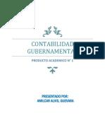 Contabilidad Gubernamental