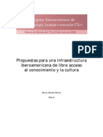 PDF Propuestas Para Una Infraestructura Iberoamericana
