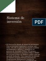 Sistema de Inversion