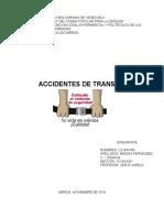 ingenieria de transito aacidentes de transito