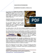 Selección de Proveedores Comercializadora de Calzado La Huella s.a. (1)