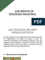 REGLAS BÁSICAS DE SEGURIDAD