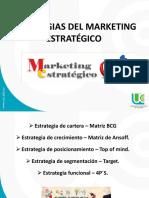 Estrategias Del Marketing Estrategico