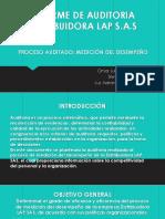 Presentación informe gerencial