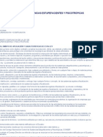 CODIFICACIÓN DE LA LEY DE SUSTANCIAS ESTUPEFACIENTES Y PSICOTRÓPICAS