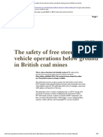 The safety of free steered vehicle operations below ground in British coal mines.pdf