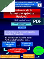Farmacoterapia Clase 1