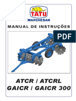 Manual Grade Tatu GAICR S 0791
