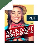 Abundant Body Miracle