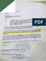 Carta al Alcalde de Puerto Rico, Caquetá