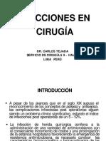 3. Infecciones en Cirugía w