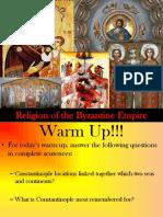 Religion Bizancio