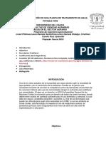 informe aguas en el sector agrario