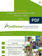 Investigacion Desarrollo Innovacion - Sesion 06 - Consumidor Peruano 2016