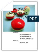medical shop management